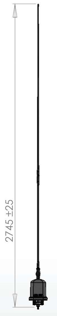 КВ Штыревая Мобильная Антенна Codan 3040