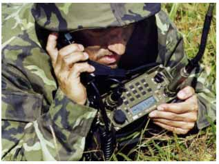 AT RF13 Portable VHF Transceiver