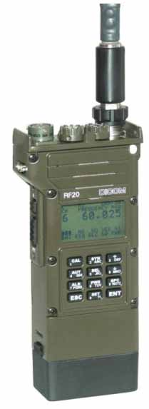 RF 20 Military Tactical Frequency Hopping Encryption Transceiver
