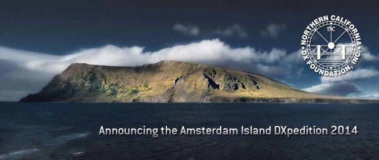 FT5ZM Остров Амстердам