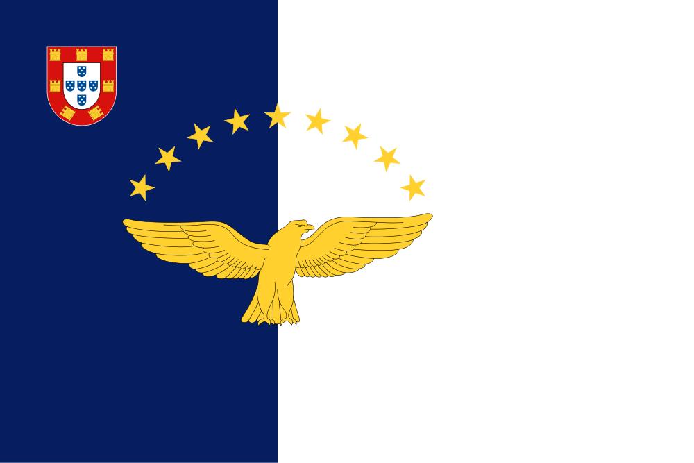 Азорские острова Флаг Азорских островов