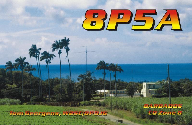 Барбадос 8P5A