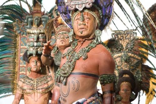 Белиз V31TF Родина племени Майя