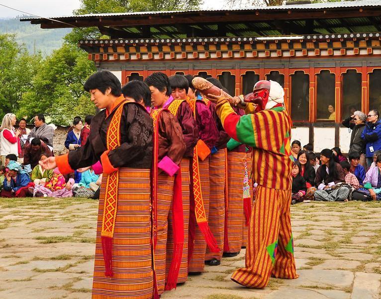 Бутан A52JR Церемония