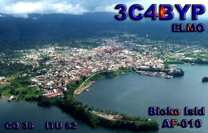 Остров Биоко Остров Фернандо По Экваториальная Гвинея 3C4BYP