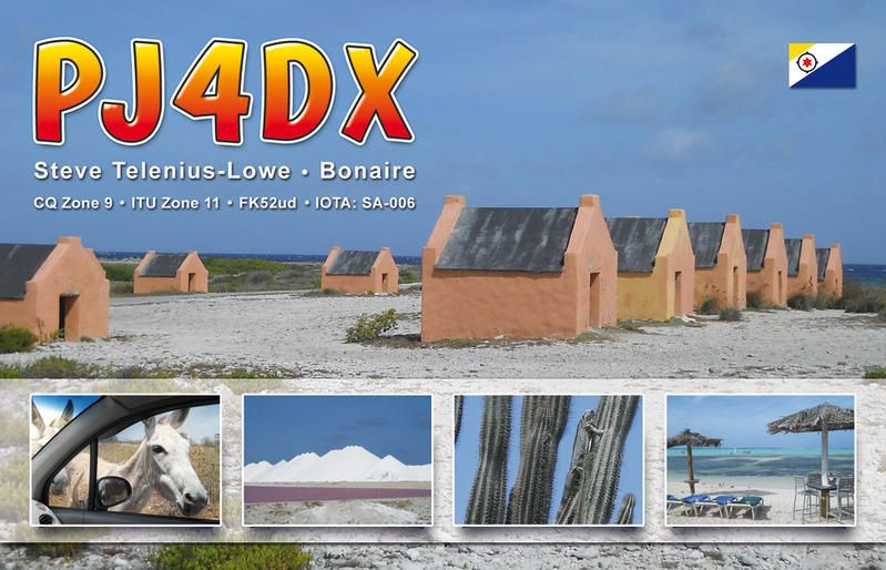 Остров Бонайре PJ4DX