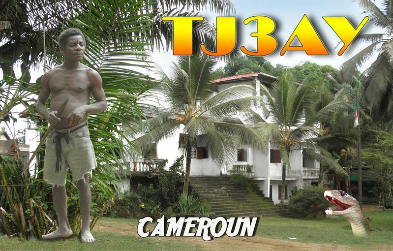 Камерун TJ3AY QSL DX