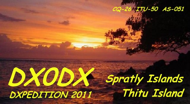DX0DX Thitu Pagasa Island Spratly Islands