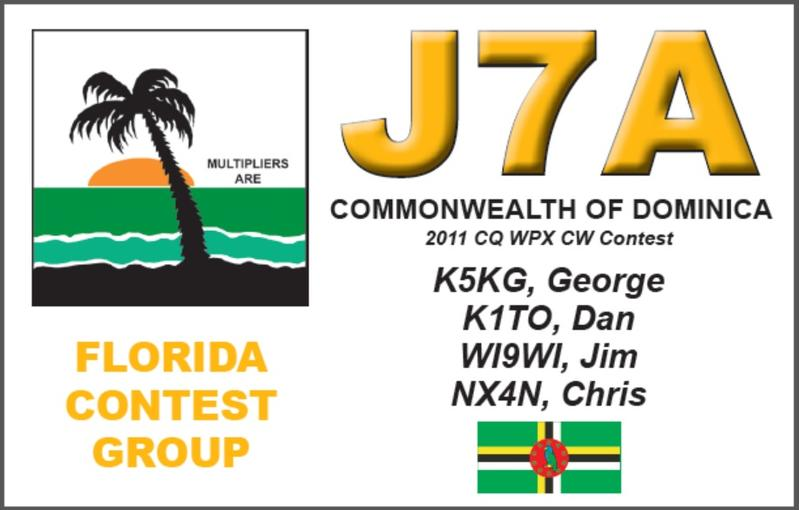 Остров Доминика J75KG J79WI J79XX J79MP J7A