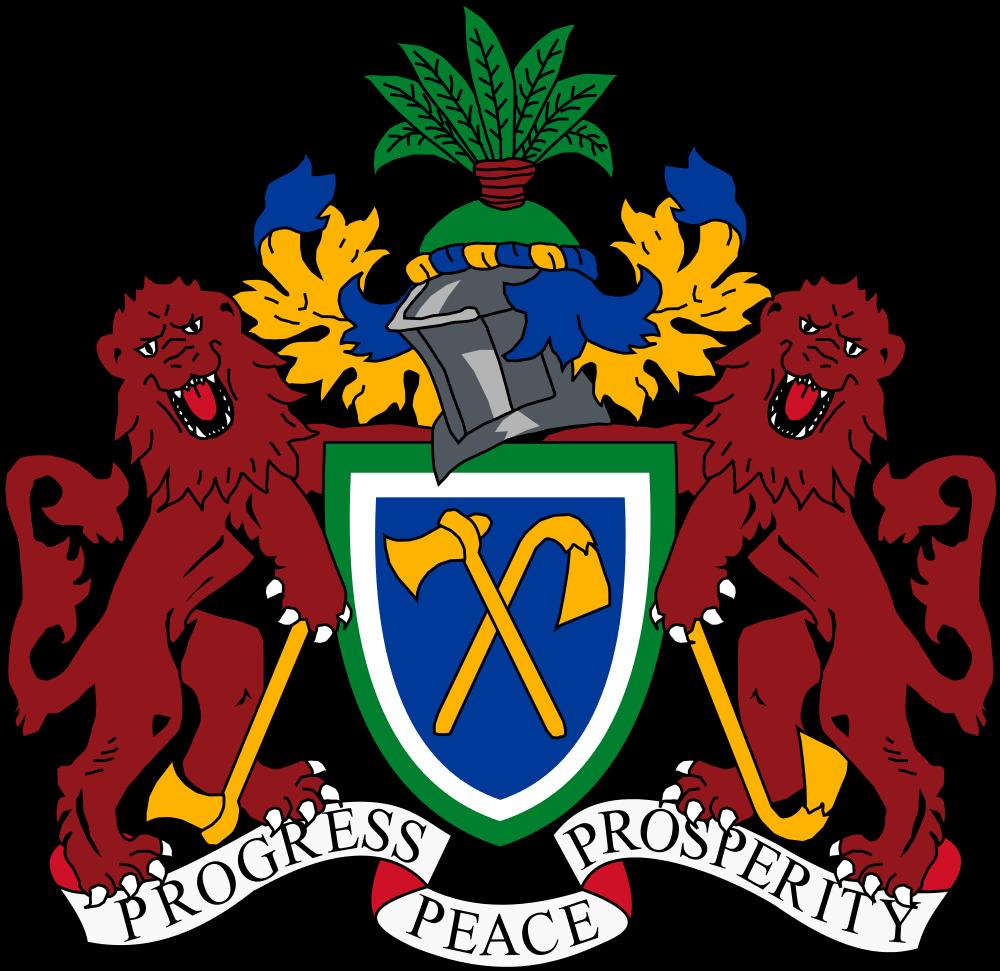 Гамбия Герб Гамбии