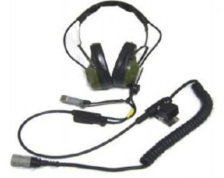 Military Headset AT H-337/TSQ-97