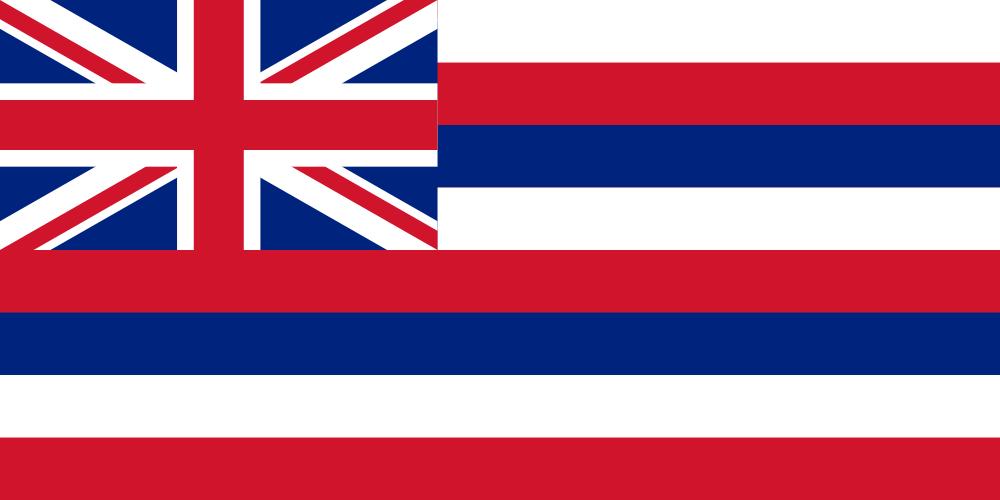 Гавайские острова Флаг Гавайских островов
