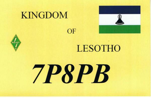 Королевство Лесото 7P8PB