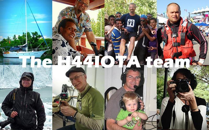 Остров Лиапари H44RK H44MK H44IOTA Соломоновы Острова