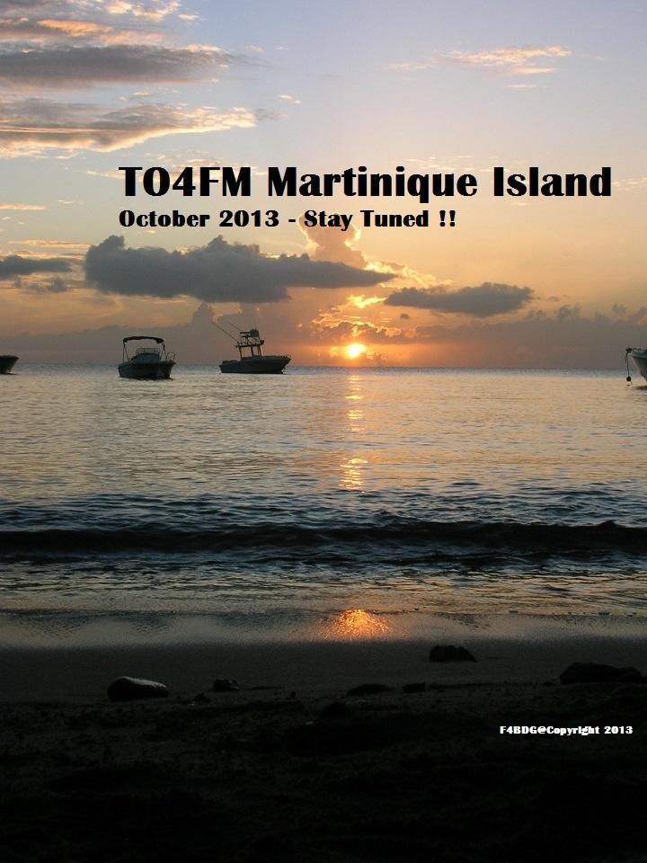 Остров Мартиника TO4FM