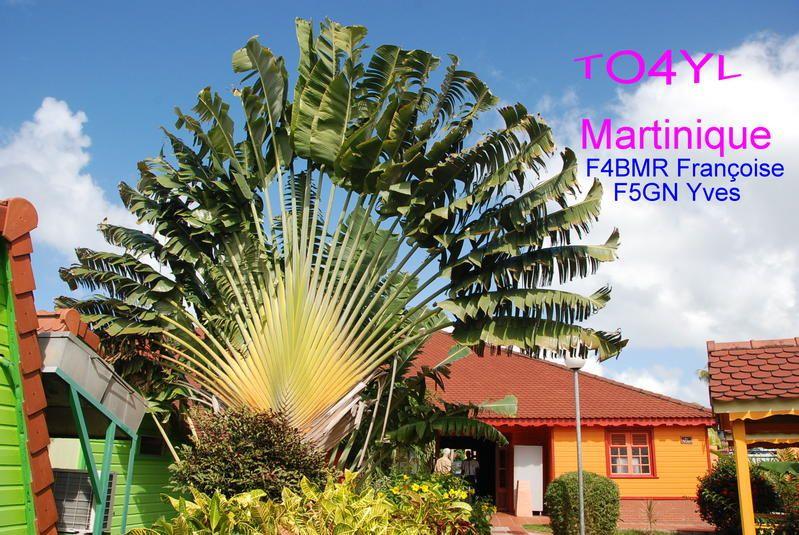 Остров Мартиника TO4YL
