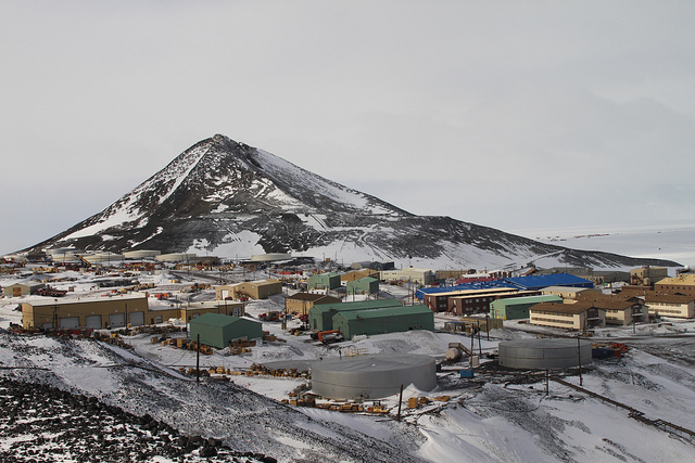 Станция Мак-Мёрдо Антарктида KC4USV DX Новости