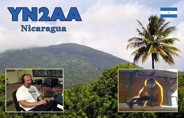 Никарагуа YN2AA DX Новости 2013