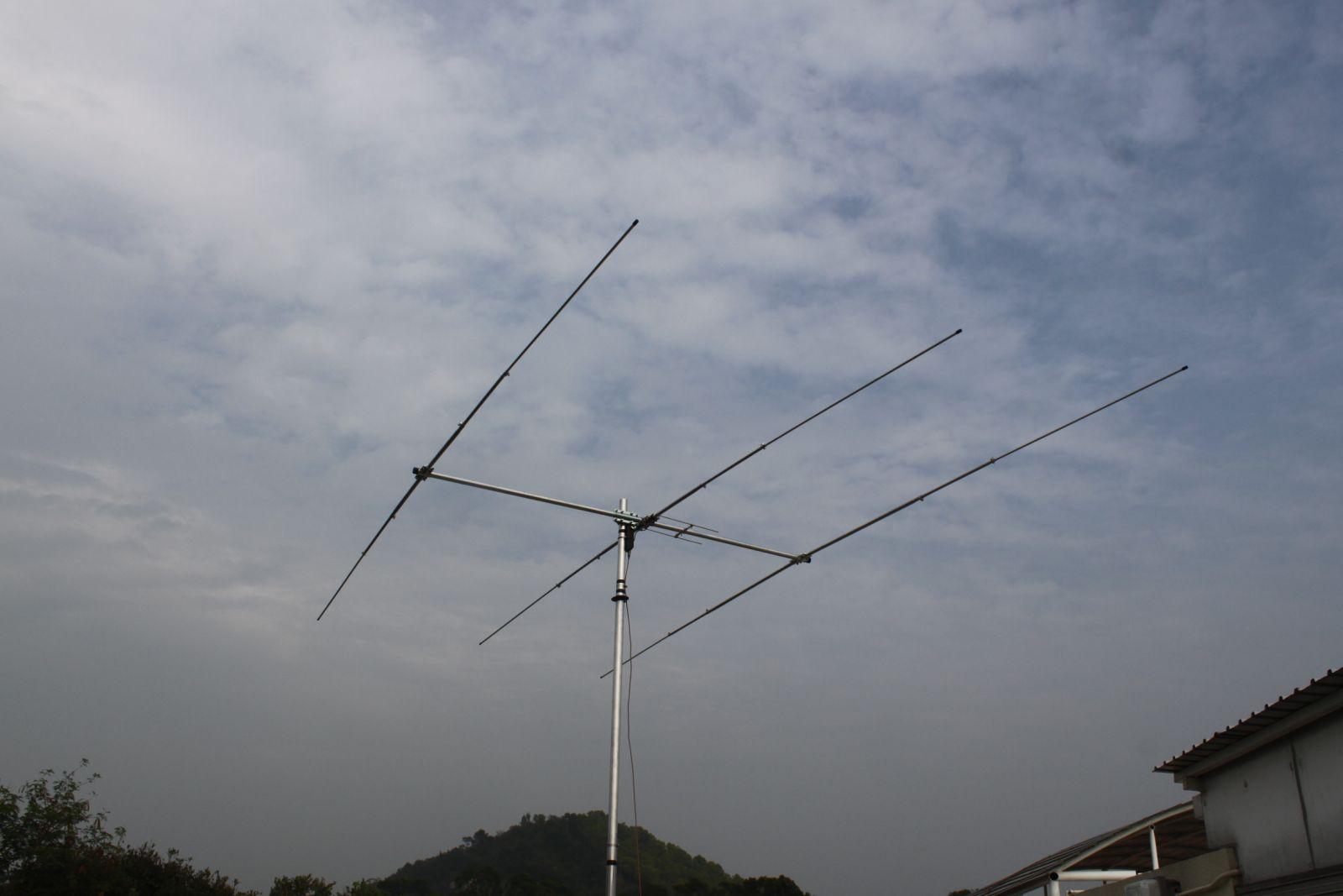 Остров Пенг Чау VR2/IV3TAN Антенна