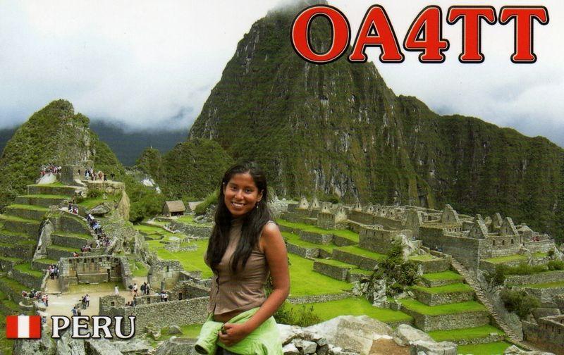 Перу OC4CW OA4TT