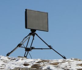 Portable Ground Surveillance Radar Perimeter Border Security