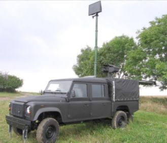 AT MGSS Mobile Ground Surveillance System Radar