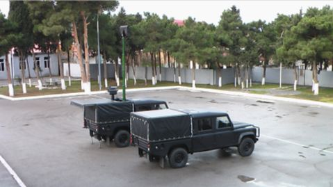 Mobile Ground Surveillance System Security Radar