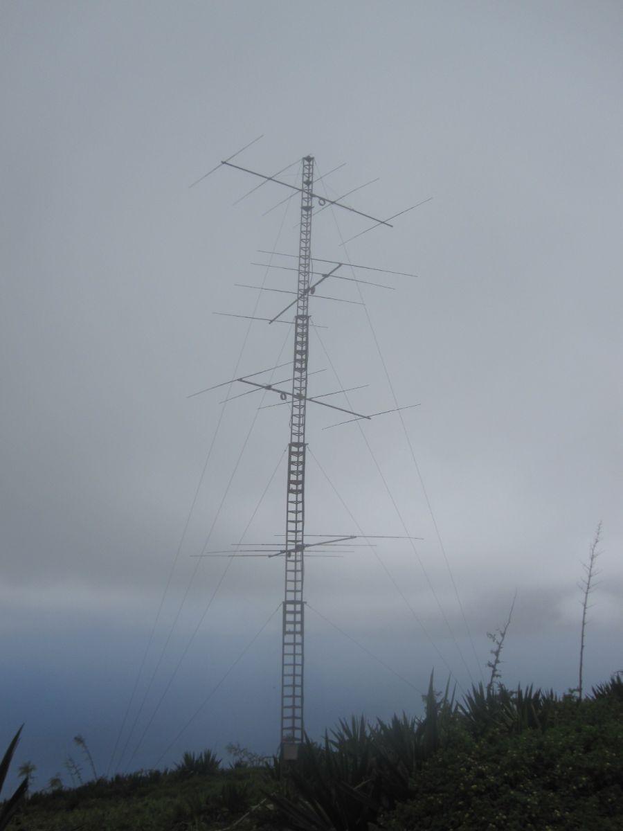 Остров Сао Висенте Кабо Верде Острова Зеленого Мыса D4C антенны 10м диапазона