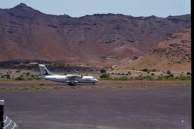 Остров Сао Висенте Кабо Верде Острова Зеленого Мыса D44TLL Миндело Аэропорт