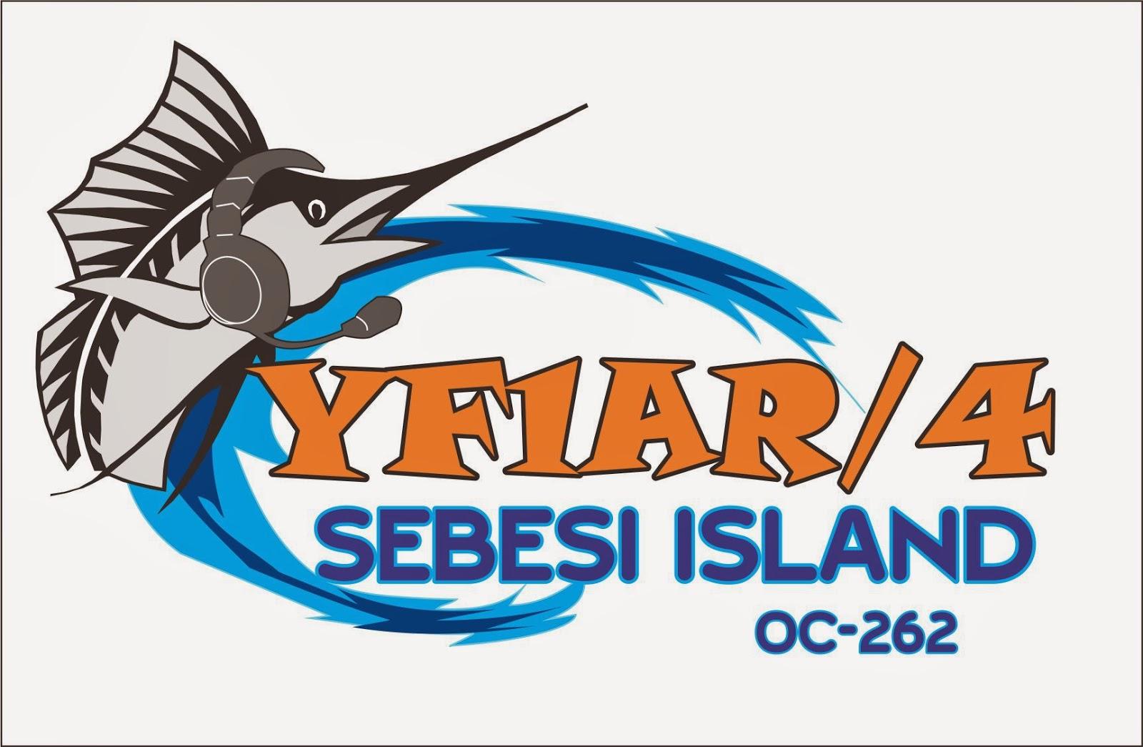 Остров Себеси YF1AR/4