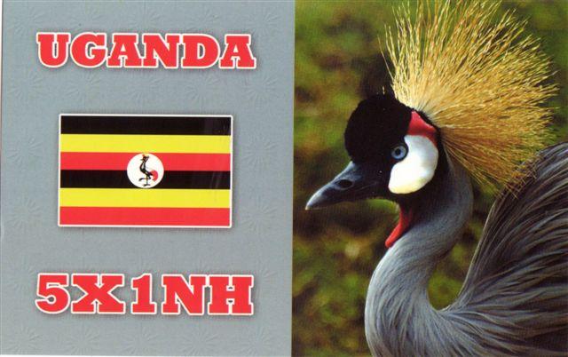 Уганда 5X1NH 2013