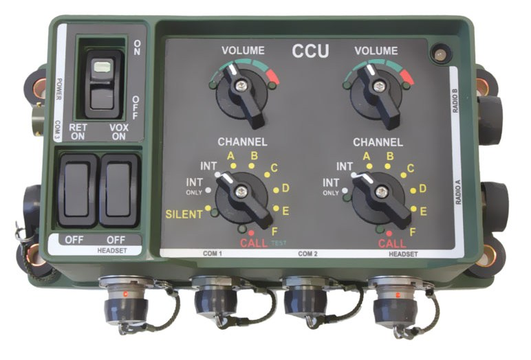 Central Communication Unit Military Intercom System