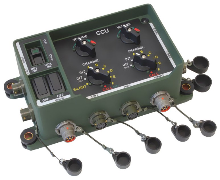 VCIM201 CCU Military Intercom System
