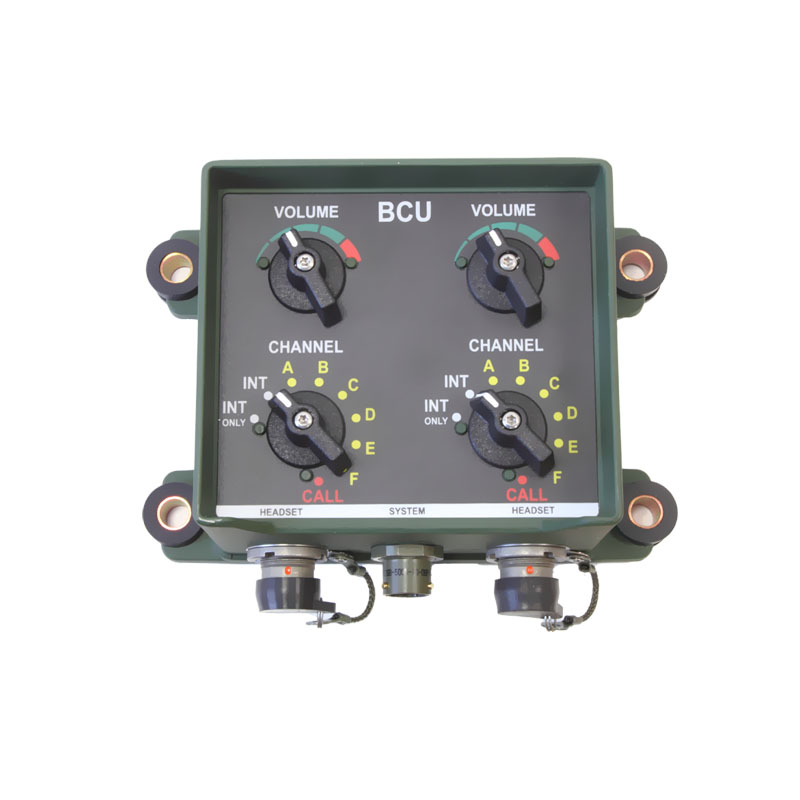 Basic Communication Unit Military Intercom System