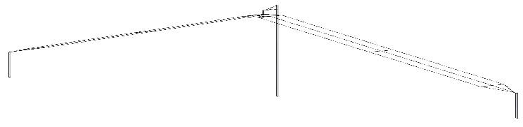 КВ Антенна С463 в виде Inverted 'V'