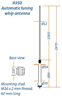 Mobile HF Antenna