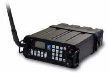 Codan 2110 with tape whip HF antenna