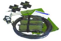 HF Tactical Military Broadband Antenna kit