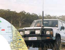 КВ Трансивер CODAN NGT ASR установлен в автомобиле