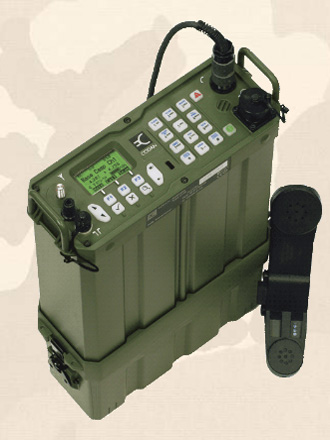 HF Manpack Military Tactical Transceiver Codan 2110m