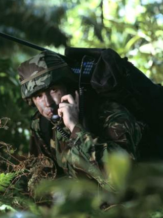 HF Military Tactical Radio Codan 2110M