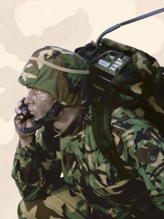 Портативный военный КВ трансивер Codan