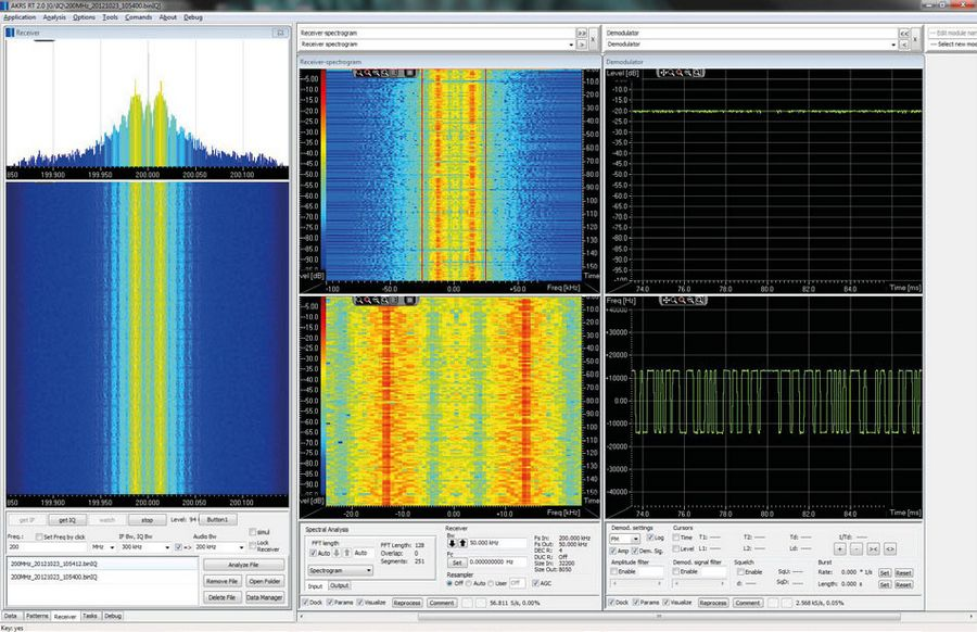 Incoming Signal Real-time Analysis