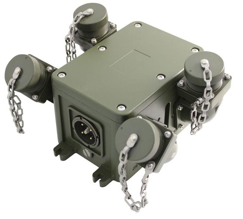 AT DVIS PSP Power Military Intercom System
