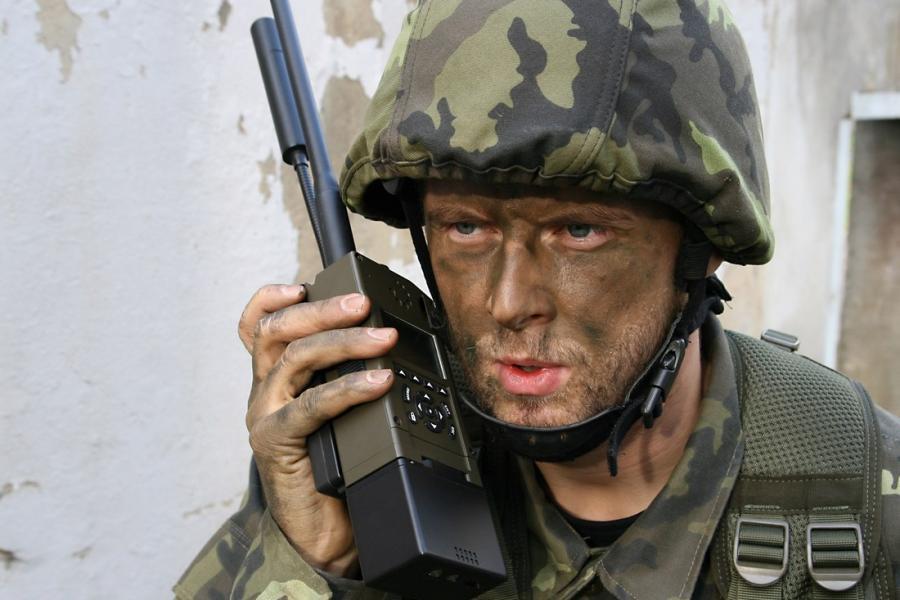 AT RF40 УКВ Военная Радиостанция