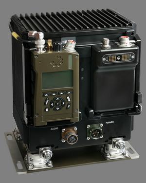 Военная VHF UHF радиостанция AT RF40V