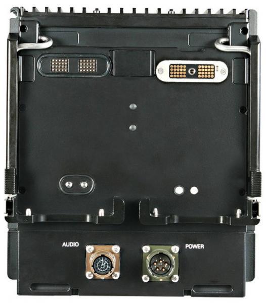 AT RF40V VHF UHF Радиостанция Вид сзади