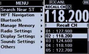 ICom - IC-A25NE/CE - LCD Screen