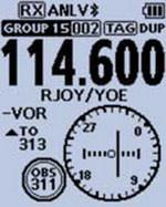 ICom - IC-A25NE/CE - Navigation Status