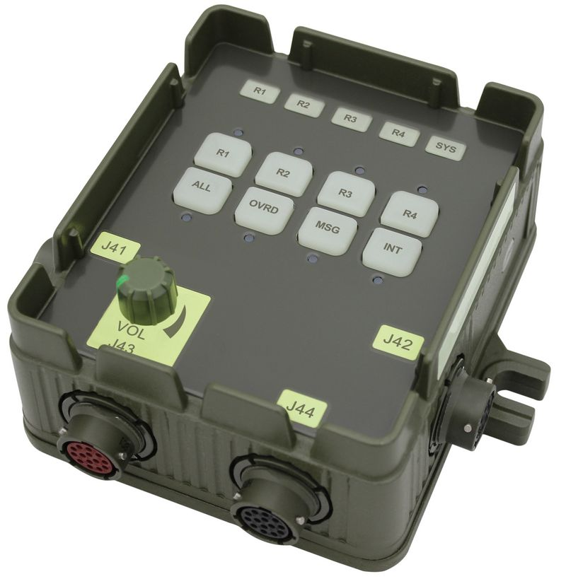 DVIS BCU Basic Crew Unit Military Intercom
